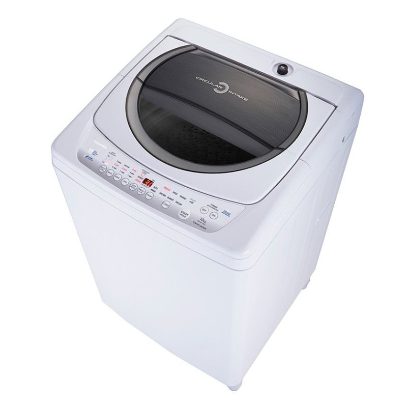 Máy giặt cửa trên Toshiba DC1005CV (WB) 9kg (Trắng xám)