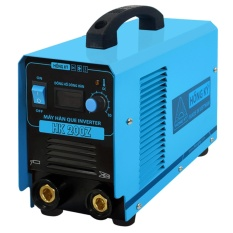 Máy hàn que điện tử Hồng ký HK 200Z (Xanh) sử dụng được khi điện yếu, tiết kiệm 50 - 60% điện năng, có chế độ bảo vệ