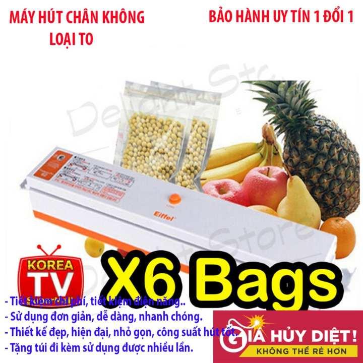 Máy hút chân không không kén túi , May hut chan khong mini - Máy hàn miệng túi cao cấp FRESH G9 - Loại tốt, mẫu to, dòng sản phẩm cao cấp. Mẫu 806 - Bh uy tín 1 đổi 1 bởi GRABS