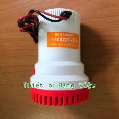 Hình ảnh Máy Hút Chất Bẩn, Hút Đáy Bể, Dọn Vệ Sinh Bể Cá 12V- 1500GPH - High Flow Water Bilge Pump