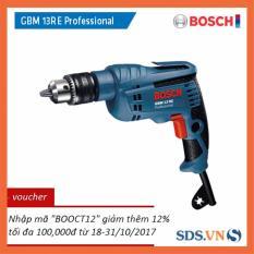 Máy khoan Bosch GBM 13 RE Professional (Xanh)