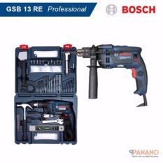 Giá Bán May Khoan Bosch Gsb 13 Re Set Tặng Kem Bộ Dụng Cụ 100 Chi Tiết Xanh Đen Hang Phan Phối Chinh Thức Nhãn Hiệu Bosch