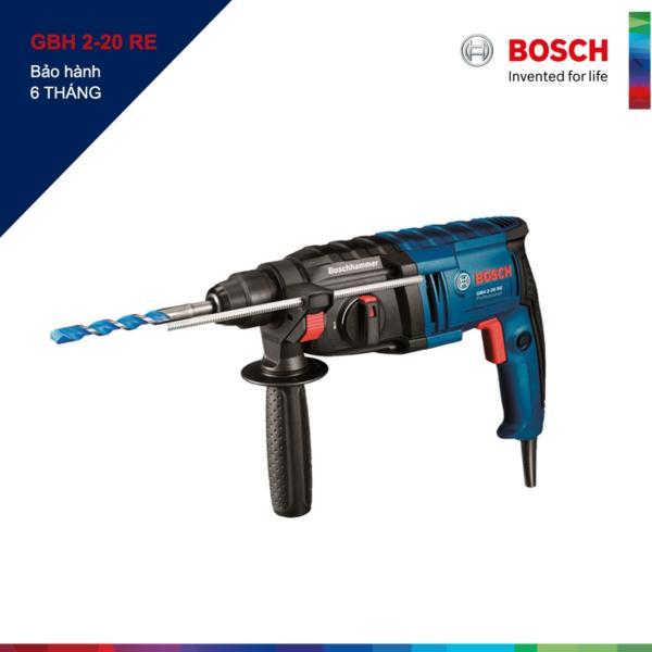 Máy khoan búa 600W Bosch GBH2-20RE (Xanh)