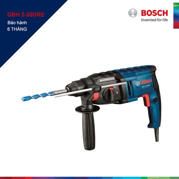 Máy khoan búa Bosch GBH 2-20 DRE (Xanh phối đen)