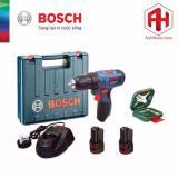May Khoan Dung Pin Bosch Gsb 120 Li Tặng Bộ Xline 34 Chi Tiết Bosch Chiết Khấu 30