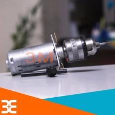 Hình ảnh Máy Khoan Mini Đa Năng 12V-2A Đầu Kẹp Mũi Từ 0.6-6.0mm ( Tặng 02 mũi khoan 1.5mm )