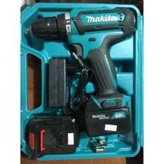 Máy khoan pin Makita Madein Thái lan  DF331D 21 vôn, bắn vít, khoan sắt, gỗ, bê tông.. chữ Makita nổi