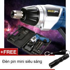 Giá Bán May Khoan Vặn Vit 47 Chi Tiết Joustmax Jst 24807 Tặng Đen Pin Mini Zento Nhật Minh Nguyên