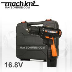 Máy khoan vặn vít cầm tay bằng pin 16.8V cao cấp Machknt có vali