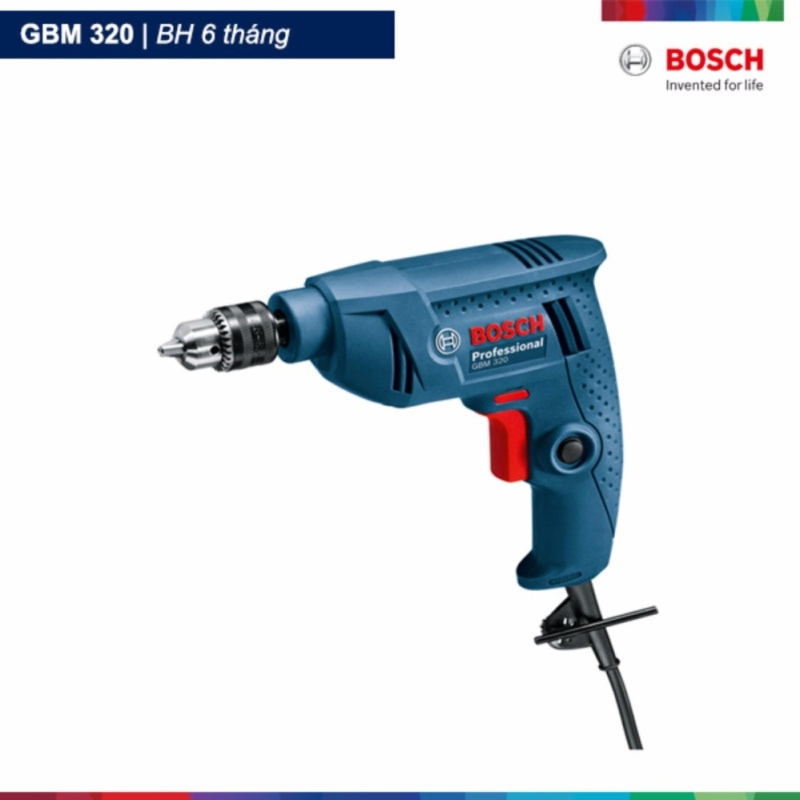 Máy khoan xoay Bosch GBM 320 (Xanh)