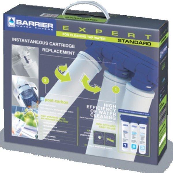 Máy lọc nước máy gắn bếp Barrier EXPERT (BA-EXP-STD) Tặng Ly Giữ Nhiệt 530ml & Hũ Thủy Tinh 0.85l