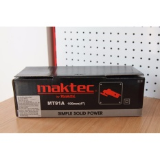 Máy mài góc 540W MAKTEC MT91A (Makita - Nhật nhóm Cam)