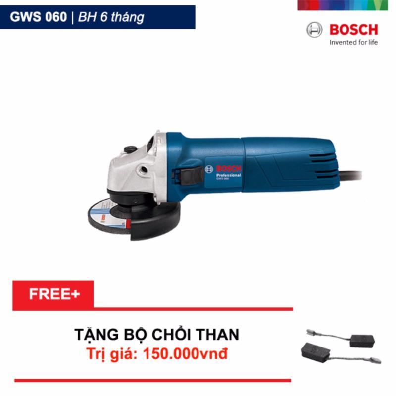 Máy Mài Góc Bosch GWS 060 - 06013756K0 Tặng bộ chổi than