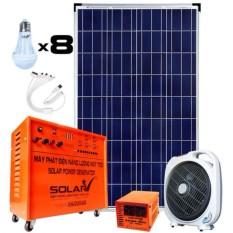 Máy phát điện năng lượng mặt trời SolarV SV-COMBO-220 (Cam)