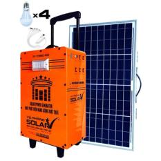 Máy phát điện năng lượng mặt trời SV-COMBO-400 (valy kéo) màu Cam