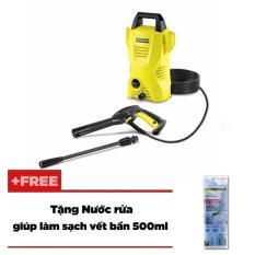 Giá Bán May Phun Rửa Ap Lực Cao Karcher K 2 Basic Oj Vang Tặng Nước Rửa Giup Lam Sạch Vết Bẩn 500Ml Karcher