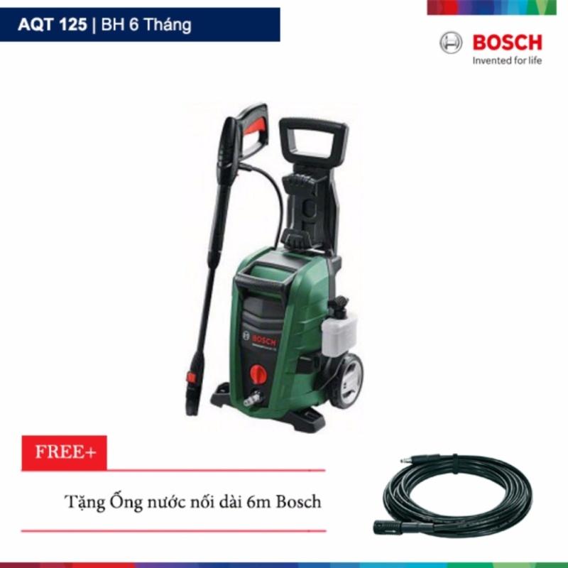 Máy phun xịt rửa áp lực Bosch AQT 125 Tặng ống phun áp lực nối dài 6m