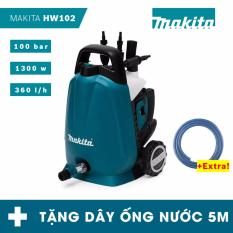 Hình ảnh Máy phun xịt rửa áp lực cao Makita HW102 - tặng dây ống nước 5m
