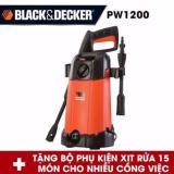 Giá Bán May Phun Xịt Rửa Cao Ap Black Decker B D Pw1200 1200W Hang Phan Phối Chinh Thức Black Decker Mới