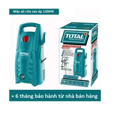Máy phun xịt rửa cao áp đa năng Total 1300W - TGT11316