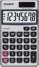 Mua May Tinh Bỏ Tui 8 Số Casio Sx 300P Bạc Trực Tuyến Rẻ
