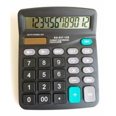 Mua Máy tính tiền cơ bản KK-837-12S BeBe mart(Màu đen)