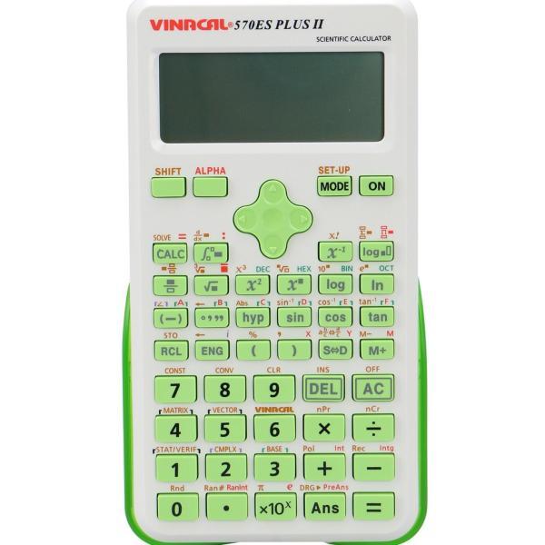 Mua Máy tính Vinacal FX570 ES Plus II-Xanh lá có tem chống giả công nghệ mới