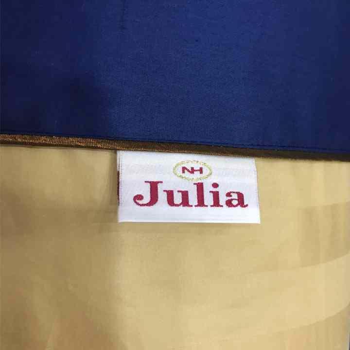 Mền chần gòn 3 lớp cotton satin Ai Cập Julia