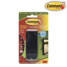 Hình ảnh Miếng dán treo tranh 7.2kg Command™, màu đen, vỉ 8 miếng