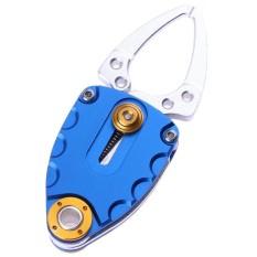Mini Thép không gỉ Câu Cá Kìm Cá Môi Kẹp Tiểu Ly Bộ Điều Khiển Dụng Cụ-quốc tế (Purple)