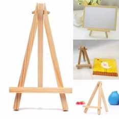 Mua Mini Wooden Cafe Table Number Easel Wedding Place Name Card Holder Stand - intl