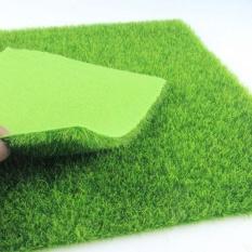 Miniature Artificial Plastic Grass Lawn Garden Décor DIY Ornaments - intl