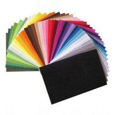 Ôn Tập Trên Phối Nhiều Mau Sắc Vải Nỉ Polyester Tự Lam Vải Khong Dệt 30 Cm X 28 Cm 42 Cai 1 Lot Quốc Tế