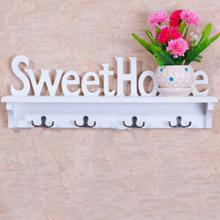 Móc treo kết hợp kệ để đồ Sweet home CD302