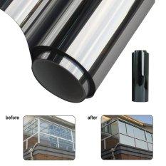 Hình ảnh Moonar 2M*50CM Window Film One Way Mirror Insulation Stickers Solar Reflective - intl
