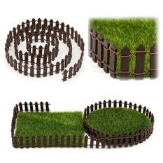 Hình ảnh Moonar Thu Nhỏ Thực Tế hình Vườn Cổ Tích Bộ Gỗ Hàng Rào Terrarium Nhà Búp Bê DIY Phụ Kiện Trang Trí (100*5 cm) -quốc tế