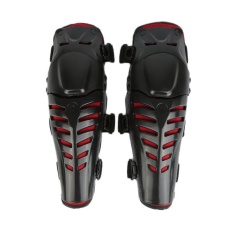 Motorcycle Motorbike Motocross Racing Elbow Knee Pads Knee Protector Adjustable - intl