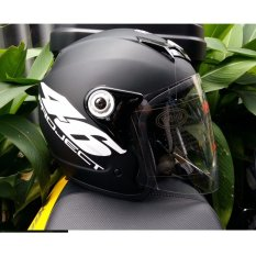 Hình ảnh Mũ bảo hiểm full face Napoli số 46 tem chuẩn quatest 3(kính trắng)