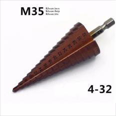 Bán Mũi Khoan Bước Hss Coban M35 Cỡ 4 32Mm Sieu Cứng Trong Hà Nội