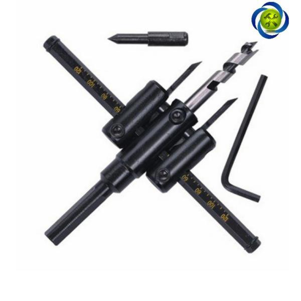 Mũi khoét lỗ gỗ và thạch cao ASAKI AK-3678 30mm - 120mm