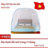 Mua Mung Chụp Tự Bung Gấp Gọn Chống Muỗi Đốt Loại 2 Cửa 1M8 X 2M Sieu Bền Loại Đỉnh Rộng Hang Việt Nam Màn Chụp Bình Minh Rẻ
