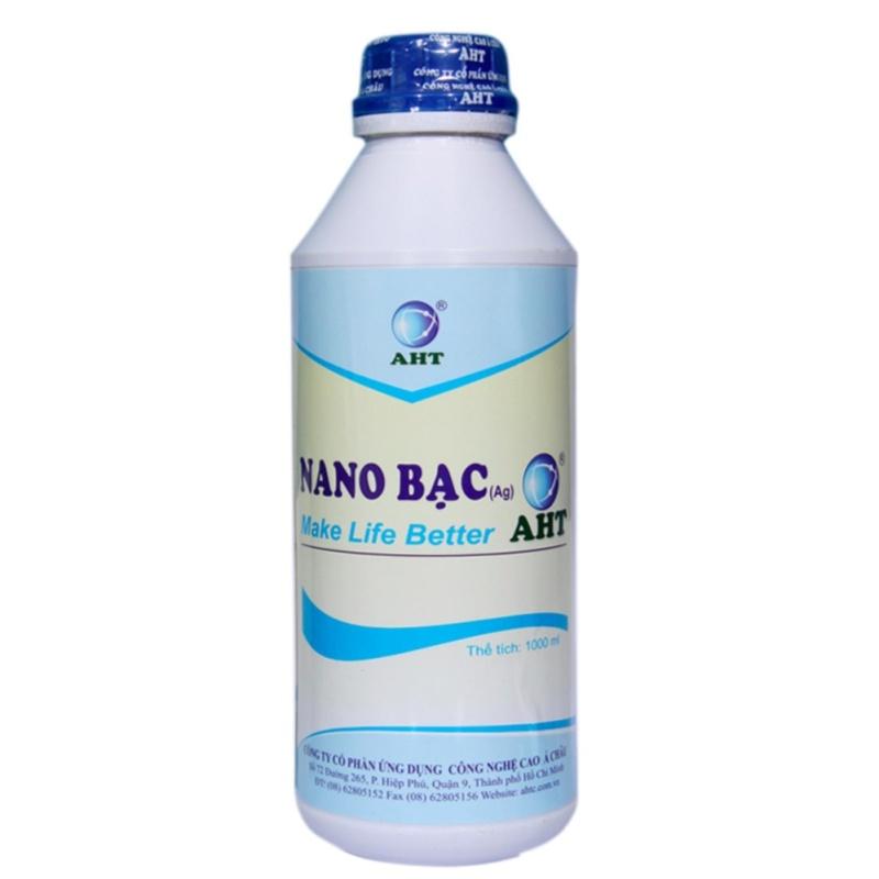 Nano Bạc AHT Diệt Khuẩn Khử Mùi Tinh Khiết 1000ml