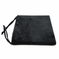 Giá Bán Nệm Ngồi 40035 Black Velvet Square Seat Pad 40X40X3 5Cm Đen Soft Decor Nguyên