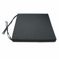 Ôn Tập Nệm Ngồi 505 Mickey Canvas Square Seat Pad 50X50X5Cm Xam Đen