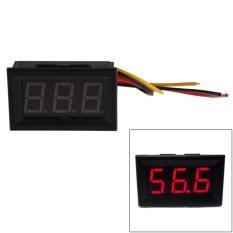 Hình ảnh NEW Red LED Panel Meter Mini Digital Voltmeter DC 0 to 99.9V (Black) - intl