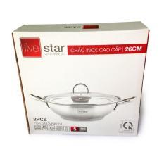 Giá Bán Nồi Lẩu Inox Cao Cấp 3 Đay Fivestar 26Cm Fivestar