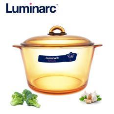 Giá Bán Nồi Thủy Tinh Cao Cấp Luminarc Vitro Amberline Granite 5L Đay Mới Chống Trượt Luminarc Mới