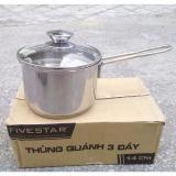 Cửa Hàng Nồi Quanh Nấu Bột Inox 3 Đay Fivestar Nắp Kinh Loại 14Cm Fivestar Trực Tuyến