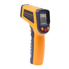 Hình ảnh Non Contact LCD IR Laser Infrared Digital Thermometer Meansuring - intl
