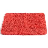 Giá Bán Non Slip Fluffy Bedroom Rug Bath Shaggy Door Carpet Floor Mat Chenille 80 X 50Cm Orange Red Intl Vietnam